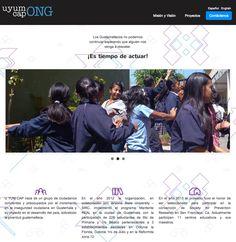 Empresa: Uyumcap  Role: Organización ayuda a jovenes.  Web: www.uyumcap.org