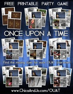 15 Best Once Upon A Time Party Images Once Upon A Time