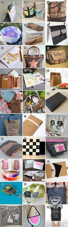 30 Nähbeispiele aus SnapPap / #SnapPap - Vegan Leather