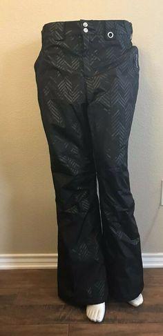 c8800c32 Zero Xposur Women's Medium Snow Pants Black Ski Fleece Lined Adjustable  Waist #gerry Cool Stuff