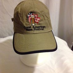 Great American Beer Festival clasp-style adjustable unisex hat