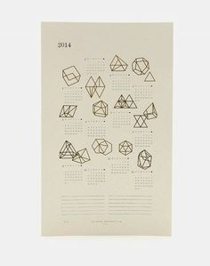 prisms calendar / julia kostreva.