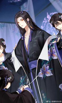 Name to add Garçon Anime Hot, Manga Anime, Boys Anime, Cool Anime Guys, Handsome Anime Guys, Manhwa, Anime Guy Long Hair, Fantasy Art Men, Boys Long Hairstyles