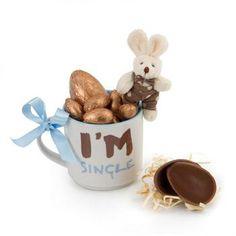 Mini ovinhos de chocolate belga da Bake a Wish com sabor único, dentro de uma bela e engraçada caneca para os que adoram não estar comprometidos! FOUND IT! – presentes especiais para todas as ocasiões