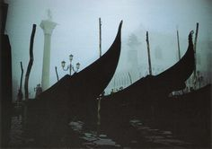 Ernst Haas, Gondolas, Doge's Palace, Venice