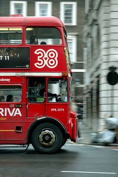 London bus, can see Harry Potter on his midnight bus..=D