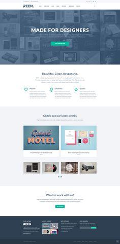 Free Creative Portfolio PSD Template