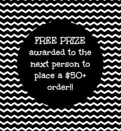 Prize for $50 order                                                                                                                                                                                 More