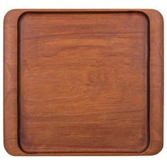 Johnny Mattsson Tray in Teak by Upsala Slöjd in Sweden | From a unique collection of antique and modern platters and serveware at https://www.1stdibs.com/furniture/dining-entertaining/platters-serveware/