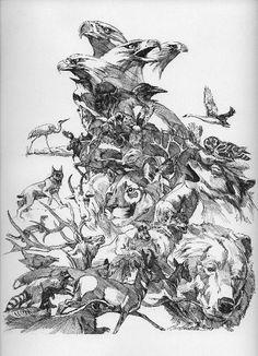Bev Dolittle - Prayer for the Wild Things Part 2 animal spirits revealed
