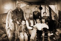 An emigrant family on the Oregon Trail