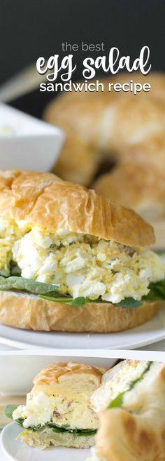 The Best Egg Salad Sandwich Recipe