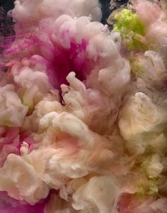 American artist Kim Keever's dazzling photographs, featuring colourful abstract compositions sometimes dubbed 'Art Under Water', are created by pouring pigments into a 200-gallon tank and capturing the...
