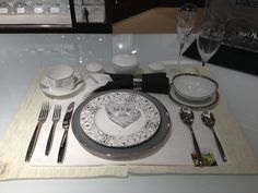 Place setting demo