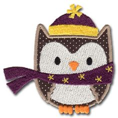KMD-Applique Winter Owl 2