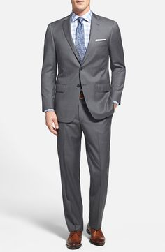 Free shipping and returns on Hart Schaffner Marx 'New York' Classic Fit Wool Suit at Nordstrom.com. Rich worsted wool shapes a sharp suit crafted with style and tradition in mind for an elevated look.