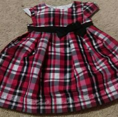 Carter's dress Red and black plaid Carters   Dresses