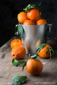 Oranges Still Life 2 ~ Photography by Luca Serradura