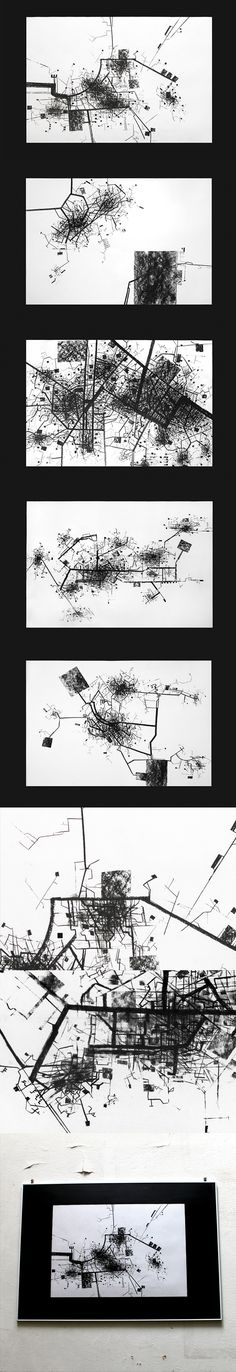 FIGURE GROUND The City by Gosia Zalot, via Behance