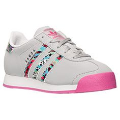 Girls' Preschool Adidas Samoa Casual Shoes | Finish Line