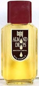 Buy Bajaj Almond Drops Hair Oil Non Sticky Stop Hair Loss, Oil Bottle, Sweet Almond Oil, Face Hair, Mineral Oil, Hair Oil, Helpful Hints, Your Hair, Herbalism