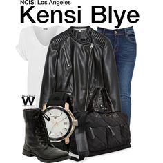Inspired by Daniela Ruah as Kensi Blye on NCIS: Los Angeles.