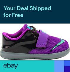 on sale ecf60 e6d90 Nike Toddlers KD 7 (TD) NEW AUTHENTIC PurpleBlack 669943-500