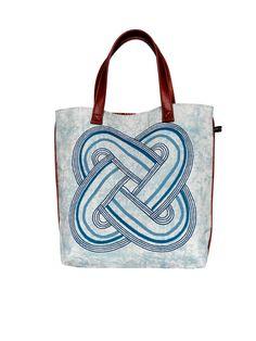 Osupa I Blue Shopper Bag #africandesign, #africantextiles, #Evasonaike, #africanprints, #africanfashion, #popularpic, #luxury, #africanbag #picoftheday #picture #look #mytrendesire #cool #africandecor #decorating #design #ekoeclipse #Osupa