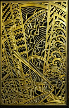 2011-04-08 NYC art deco 168, The Chanin Building   by suellen1111_s, via Flickr. More textures  tangle inspiration to be found at this link