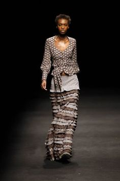 Designer - Bongiwe Walaza #AfricaFashion #AfricanPrints ~Latest African Fashion, African Prints, African fashion styles, African clothing, Nigerian style, Ghanaian fashion, African women dresses, African Bags, African shoes, Nigerian fashion, Ankara, Kitenge, Aso okè, Kenté, brocade. ~DK