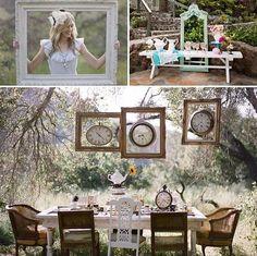 Ideas para unadecoración de boda inspirada en los cuentos.