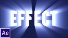 Shine Through Text Effect Tutorial | After Effects CS6