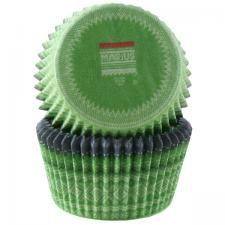 green Marius-patterned muffin cups (Drammen)
