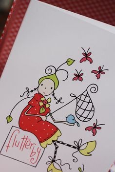 Love her stuff!  She has a new line of greeting cards.