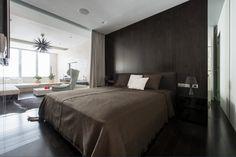 Dark small bedroom by Alexandra Fedorova
