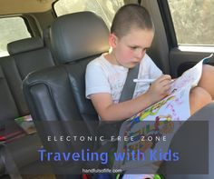 Did you just cringe or sigh reading that heading? Traveling with kids can be rough and it can be fun….yes, both. We do a lot of traveling by car and we travel without electronics too. No DVD…