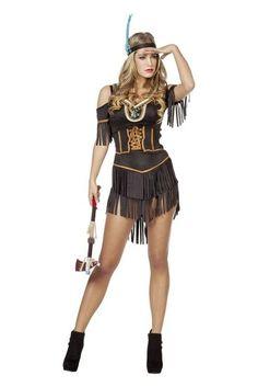Kostuum Indiaanse Dame - De Kaborij