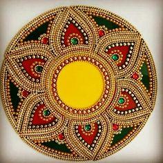 Call / whatsapp 8108101524 to get this rangoli 13 piece Diya Rangoli #Bollywoodinspiredrangoli #KundanRangoli #weddingrangoli #DecorativeRangoli