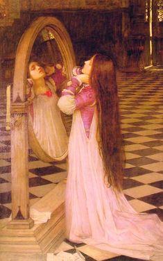 Vanité ~ John William Waterhouse (1840-1917)