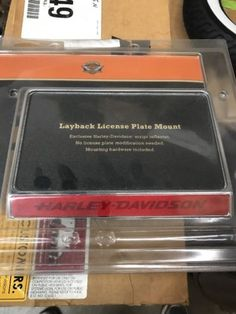 #Harley Harley Davidson Layback License Plate Mount 60215-06 please retweet