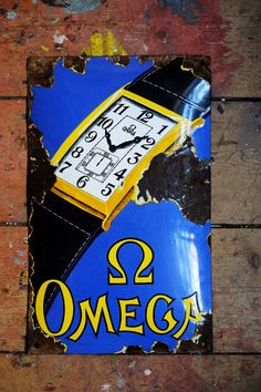Old Rare Omega Watches Antique Vintage by InterestinOldUnusual