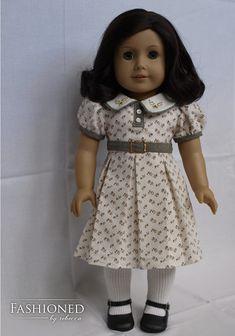 Gallery | Kit American Girl Doll, American Girl Dress, American Girl Crafts, American Doll Clothes, Ag Doll Clothes, Doll Clothes Patterns, Doll Patterns, American Girls, Ag Clothing