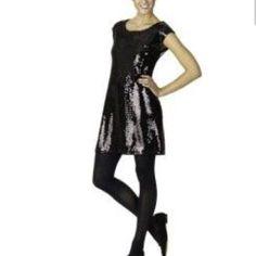Isaac Mizrahi sequin cocktail party dress black Isaac mizrahi for target shift sequin dress. Great for a cocktail party! Isaac Mizrahi Dresses Mini