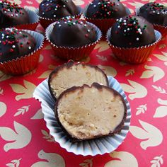 """Milk Chocolate Peanut Butter BallsAnother gem that I discovered on Pinterest and added to my Christmas """"baking"""" list for this year. This delicious peanut butter truffle candy was …"""