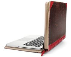 Laptop case that looks like a book!