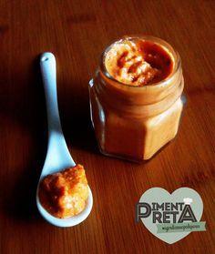 Pimenta Preta: Pesto (fantástico) de pimentão vermelho