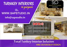 Turnkey Interiors in Gurgaon Residential Interior Design, Interior Designing, Simple Designs, Cool Designs, Commercial Interiors, Neutral Colors, Design Trends, Modern Design, Concept