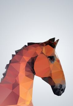 Three Of The Possessed  Horse illustration  ZEROING.tumblr.com