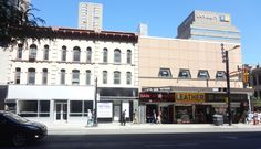 Corner of Yonge & Gerrard Streets - 2014 Downtown Toronto, Multi Story Building, Street View, Corner