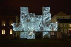 PIXEL CLOUD installation by Marcos Zotes » Retail Design Blog